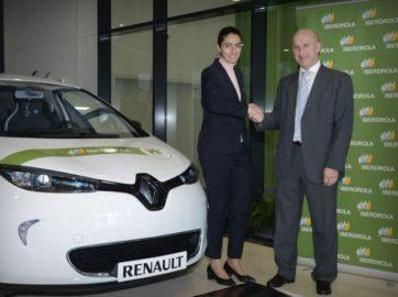 Iberdrola y Renault impulsarán la movilidad eléctrica