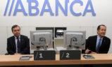Visita del presidente y del CEO de Abanca al Gobierno Vasco
