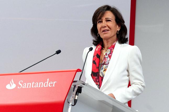 Ana Botín, entre los líderes empresariales mejor valorados por la prensa