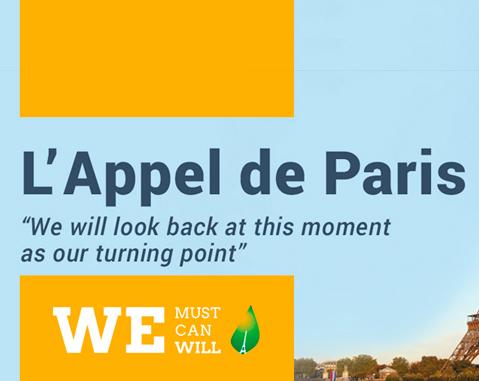 Acciona se une al 'Compromiso para la Acción de París' contra el cambio climático