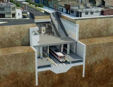 ACS y FCC reciben 57 millones de financiación para las obras del metro de Lima