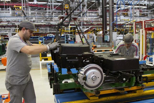 El sector manufacturero de España crece en diciembre