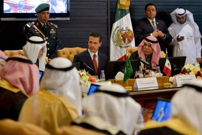 México y Arabia Saudita firman acuerdos económicos