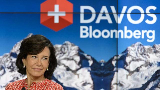 Ana Botín y Francisco González participarán en el Foro de Davos