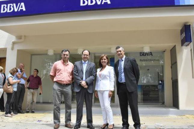 BBVA inaugura sucursal en Canelones (Uruguay)