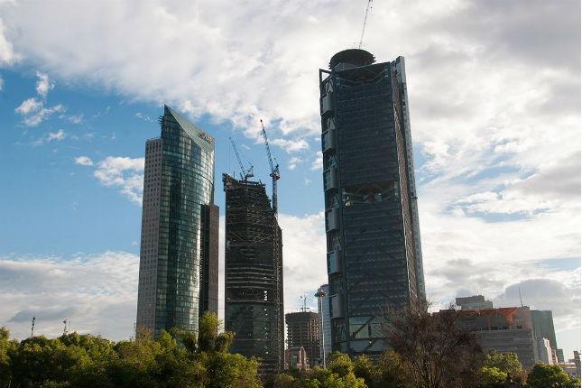 Inauguración de la Torre BBVA Bancomer