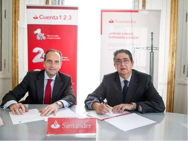 Banco Santander y el Colegio de Abogados de Sevilla renuevan su colaboración