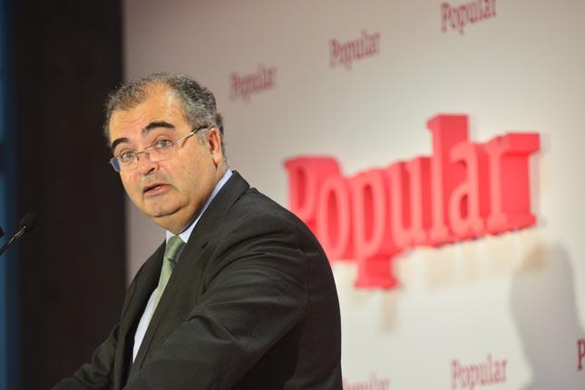 Ángel Ron, última semana como presidente del Popular