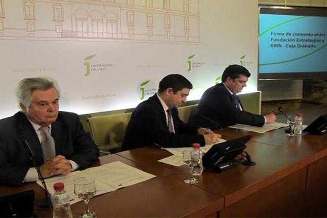 BMN-CAJAGRANADA firma acuerdo con la Fundación Estrategias