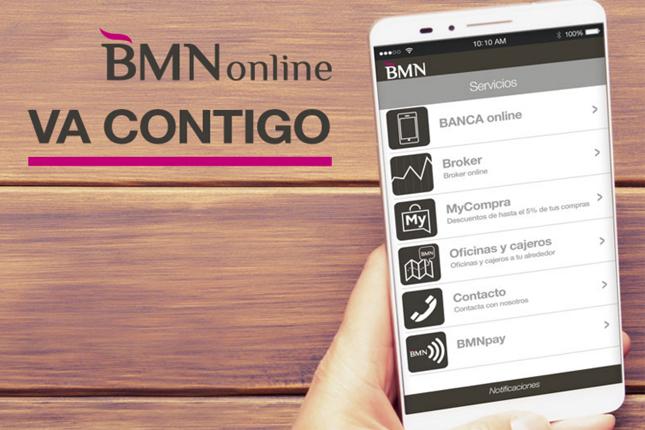 BMN: las transacciones online representan el 24% del total