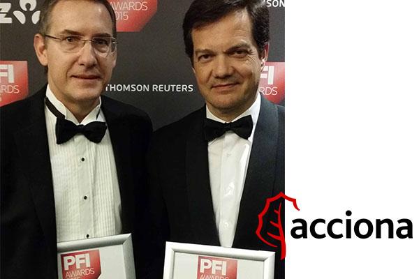 Acciona se alza con dos premios en los 'Project Finance International Awards 2015'