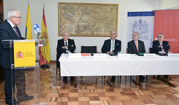 Banco Santander y la Embajada de España en Colombia crean la Cátedra España