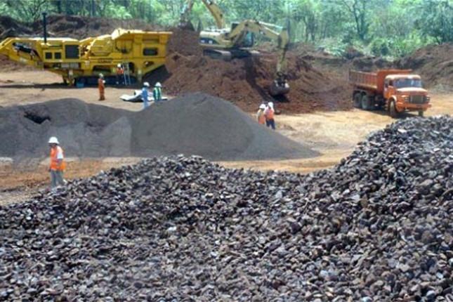 Colombia aumenta la producción de hierro, oro y esmeraldas