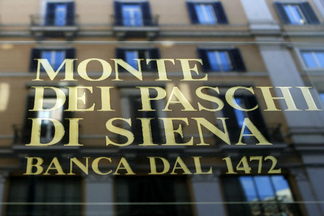 Italia controlará un 70% de Monte dei Paschi