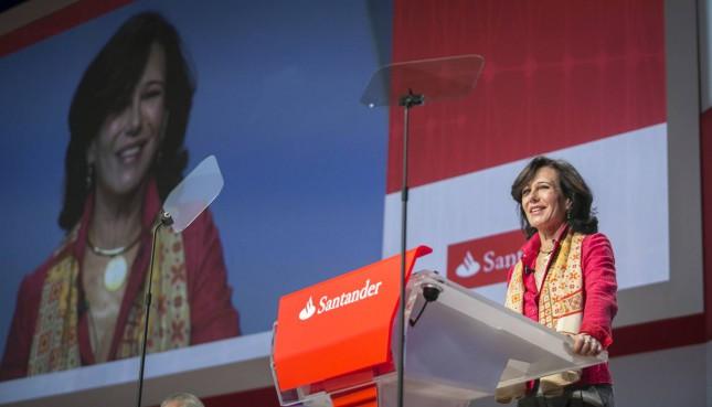 Banco Santander celebrará su junta general de accionistas el 18 de marzo