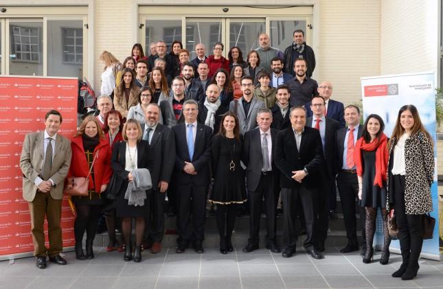Banco Santander y la Universidad de Murcia apuestan por los jóvenes investigadores