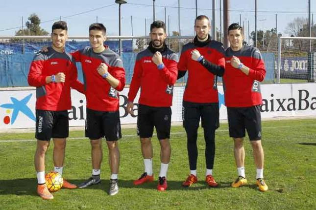 El Espanyol y CaixaBank ha presentado una pulsera Visa Contactless