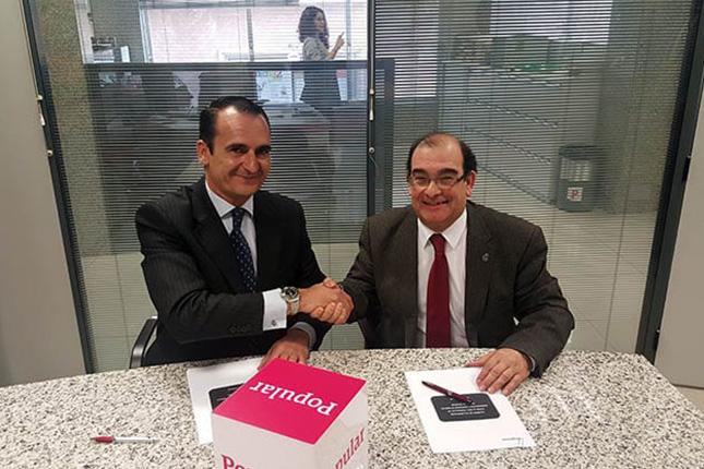 Banco Popular y la Federación de Cofradías de Granada firman un acuerdo