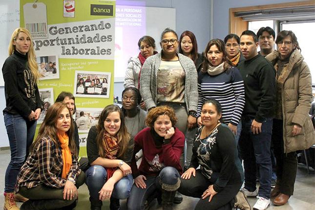 Bankia y Cruz Roja promueven formación para personas con dificultades de empleabilidad