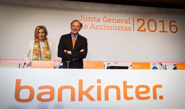 Bankinter eleva un 36% su dividendo