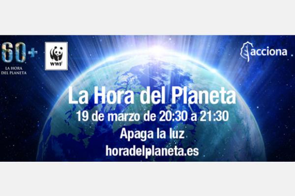 Acciona se suma a la 'Hora del Planeta' contra el cambio climático