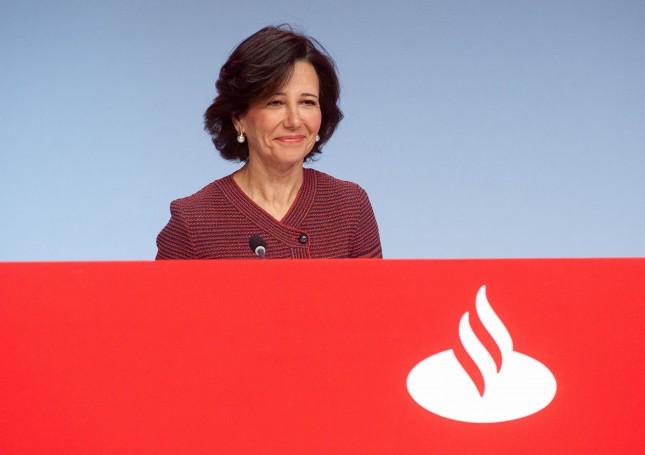 Banco Santander subirá un 5% el dividendo de 2016