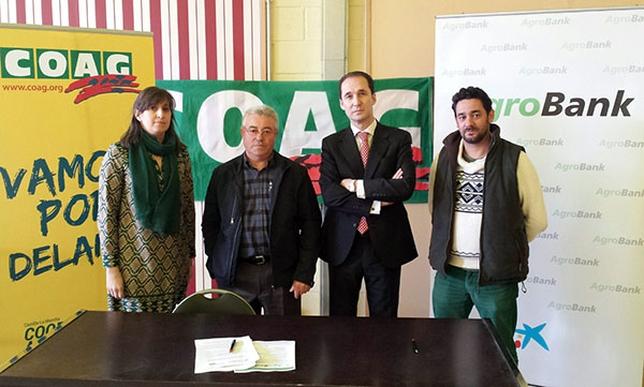 CaixaBank y COAG firman un acuerdo para potenciar el sector agrícola