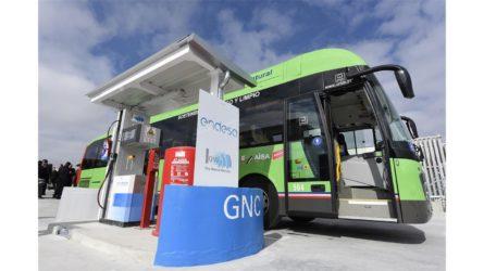 Endesa abre su primera planta de gas natural vehicular en Madrid
