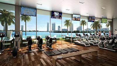 la importancia de los gimnasios para hoteles de lujo. Black Bedroom Furniture Sets. Home Design Ideas