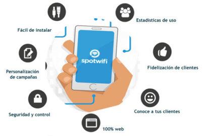 Movistar lanza spotwifi, servicio de personalización de WiFi para pymes