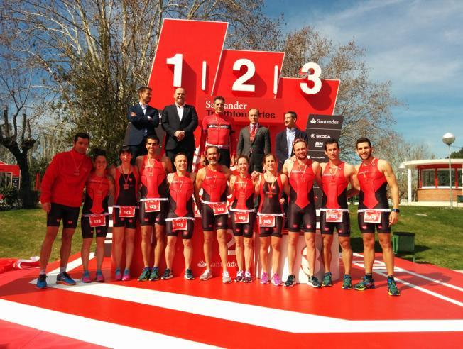 Banco Santander presenta la nueva edición de la Triathlon Series