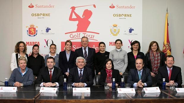 Banco Santander apuesta por el golf femenino  con el Santander Tour