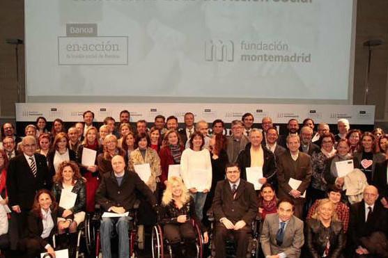 Bankia y Montemadrid reparten un millón entre asociaciones del ámbito social