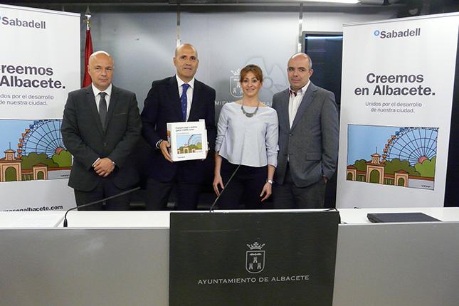 """Banco Sabadell lanza la campaña """"Creemos en  Albacete"""""""