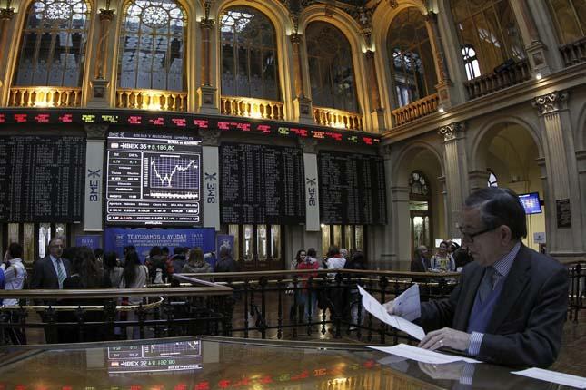 El Ibex cede un 2,85% al cierre