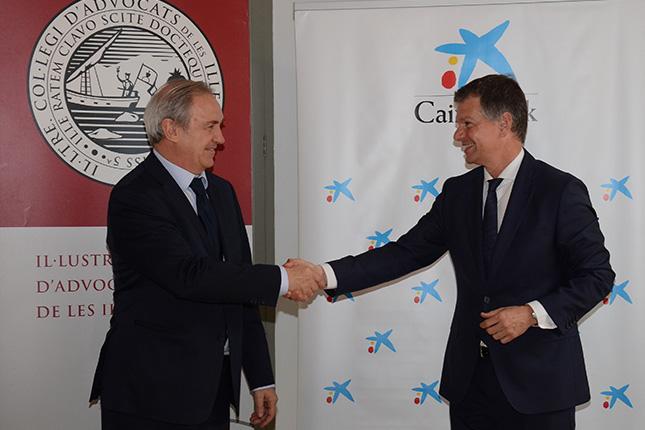 CaixaBank firma un convenio con el Colegio de Abogados de Baleares