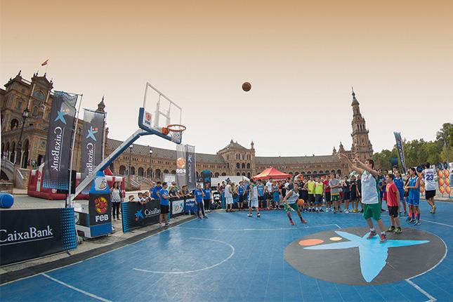CaixaBank y la FEB llevan el circuito Plaza 3x3 a quince ciudades