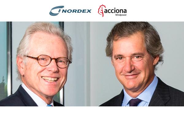 Acciona Windpower y Nordex completan su fusión
