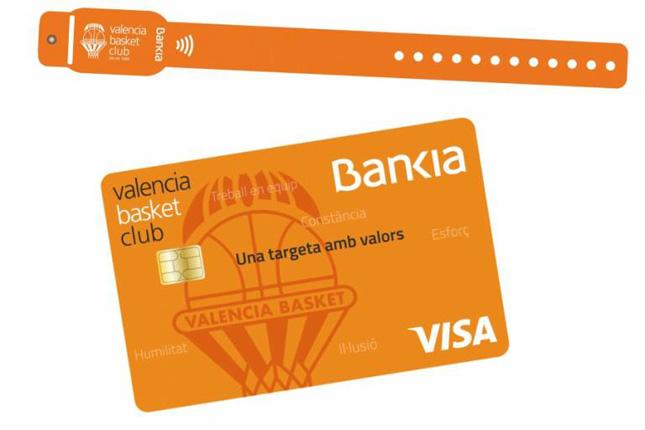 """Bankia y Valencia Basket lanzan la nueva tarjeta """"Valencia Basket"""""""