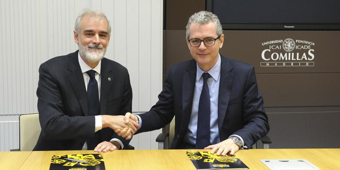 Inditex y la Universidad Pontificia Comillas crean la Cátedra de Refugiados y Migrantes Forzosos