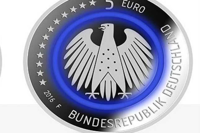 Alemania estrena una nueva moneda de 5 euros