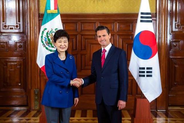 México y Corea del Sur buscan un tratado de libre comercio