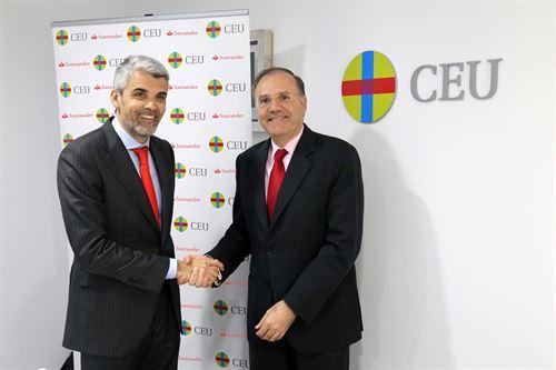 Banco Santander y Fundación San Pablo CEU crean el Observatorio de Empleabilidad CEU-Santander