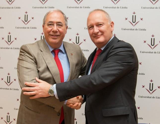 Banco Santander y la Universidad de Lleida renuevan su colaboración hasta 2019