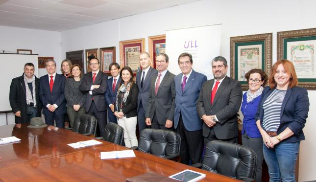 Banco Santander renueva su colaboración con la Universidad de La Laguna