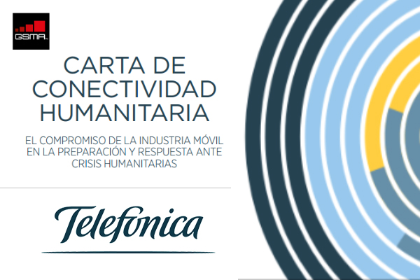 Telefónica se suma a la Carta Humanitaria de Conectividad