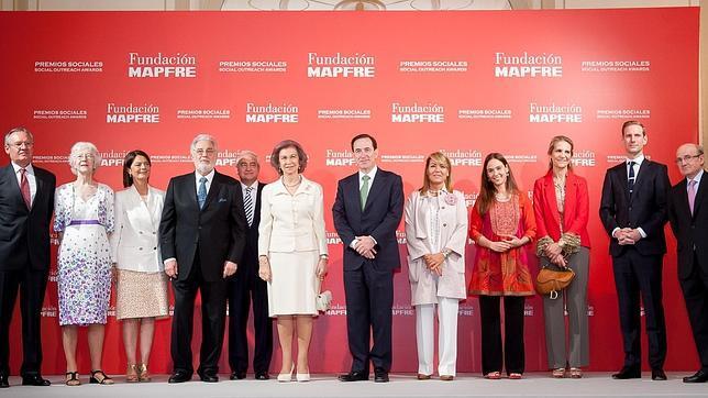 Doña Dofía premiada por la Fundación Mapfre