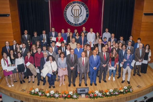 Banco Santander y la UCEM entregan los Premios de Excelencia y Emprendimiento 2016