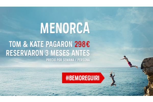 Atrápalo lanza #BeMoreGuiri, campaña de venta anticipada para verano
