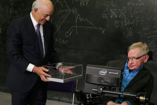 BBVA premia a Stephen Hawking